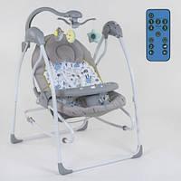 Кресло-качалка для ребёнка,качалка-шезлонг, Детская качель электрическая   СХ-30350 JOY 11/78.5