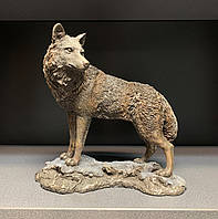 Статуэтка Veronese Волк 24 см 74614A4, символ храбрости, фото 1
