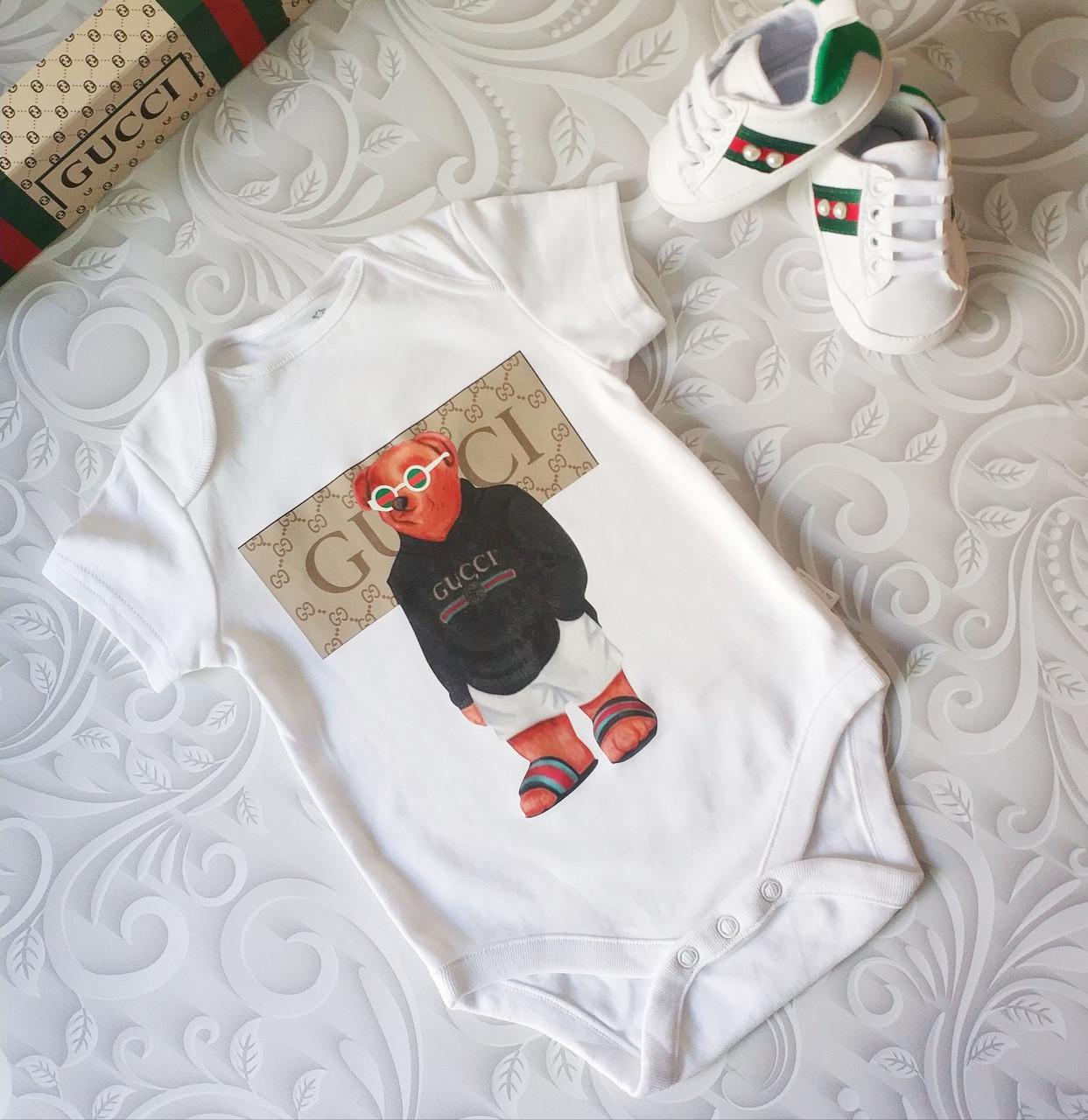 Боди для новорожденных Gucci