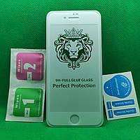 IPhone 7 Full Glue Защитное стекло Белое