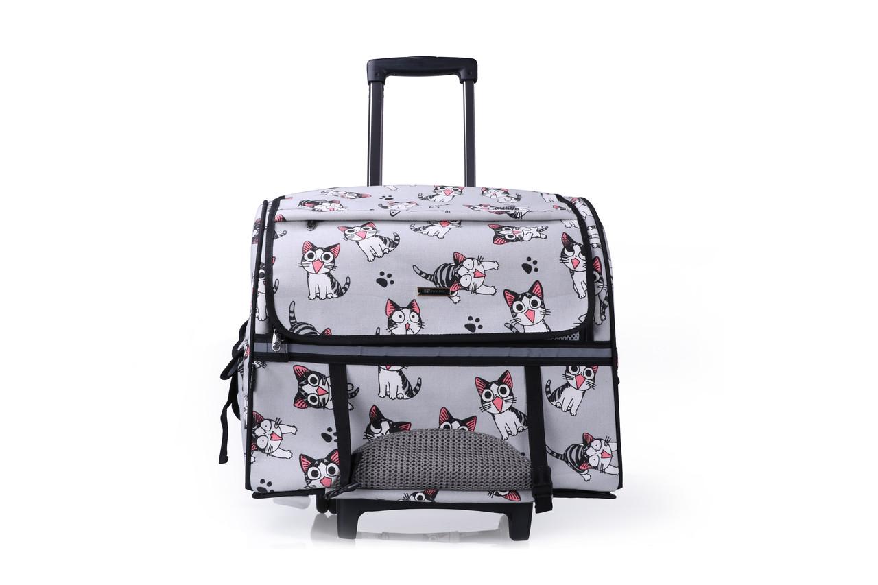 """Кейс-переноска-рюкзак для собак и котов Do Do Pet  """"Robby Printed"""""""
