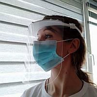 Захисний лицевий екран багаторазового використання. Товщина экрану 500-700мкм