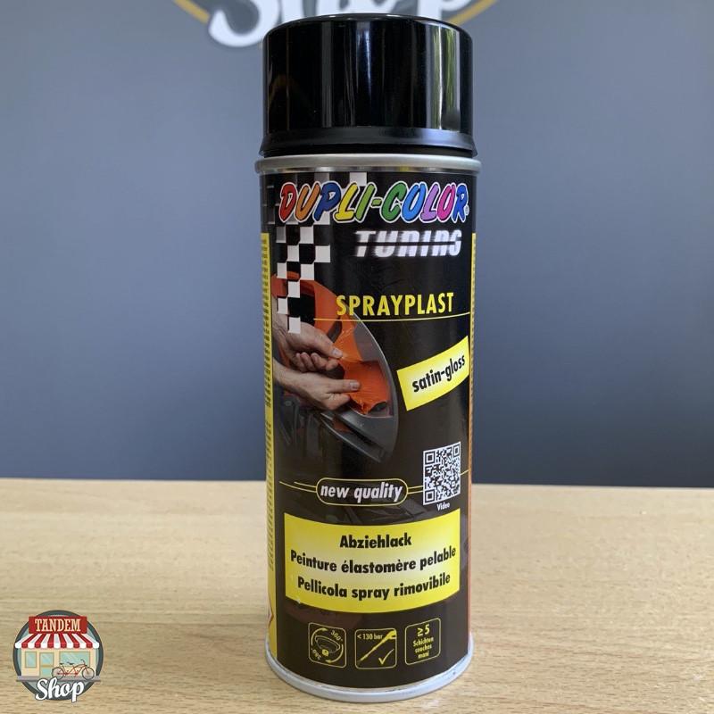 Жидкая резина Dupli Color, 400 мл Аэрозоль Черный глянец