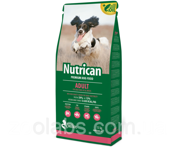 Корм Nutrican для собак   Nutrican Adult Dog 3 кг