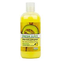 "Крем-гель для душу ""Тайська диня і білий лимон"" Fresh Juice Cream-500 мл Shower Gel"