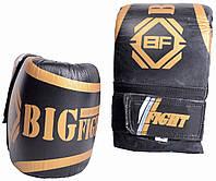 Перчатки снарядные кожаные блинчики ,Перчатки снарядные для бокса ,Хорошие снарядные перчатки