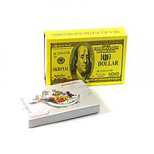 Карты игровые Доллары 54шт с Джокером . Игрушка для наполнения Пиньяты от ПиньятаUA