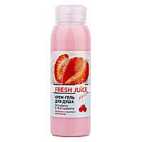 "Крем-гель для душу ""Полуниця, червона восковниця"" Fresh Juice Strawberry&Red Bayberry Shower Gel 300 мл"
