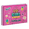 """Альбом для малювання на пружині 20/100 А4 """"Yes"""" Style Girl 130446"""