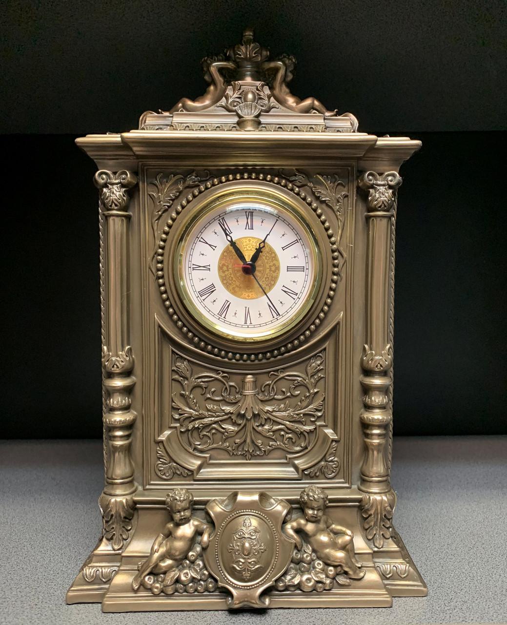 Камінний годинник Veronese Янголята 32 см 75315 A1