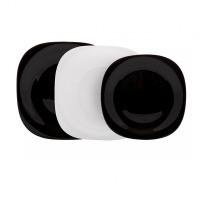 Купить Сервиз столовый luminarc carine white black 18 предметов (n1479)