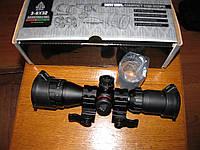 Прицел оптический миник Leapers BugBuster 3-9x32 AO Compact (SCP-M392AOLWQ) В комплекте быстросъемные кольца