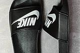 Шлепанцы женские 17352, Nike, черные, [ 38 ] р. 38-24,0см., фото 5