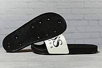 Шлепанцы мужские 17362, Boss Hugo Boss, черные, < 42 45 > р. 42-26,8см., фото 1
