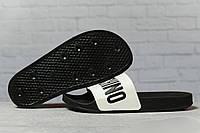 Шлепанцы женские 17393, Moschino, черные, < 36 37 38 39 > р. 36-23,1см.