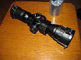 Прицел оптический миник Leapers BugBuster 3-9x32 AO Compact (SCP-M392AOLWQ) В комплекте быстросъемные кольца, фото 3