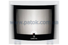 Панорамное стекло двери духовки для плиты Greta 498x429mm