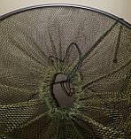 Садок рыболовный Condor d=40см, L=80 см, капрон 4 мм, фото 4
