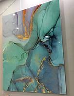 Стеклянное панно - Мрамор (Абстракция) 1