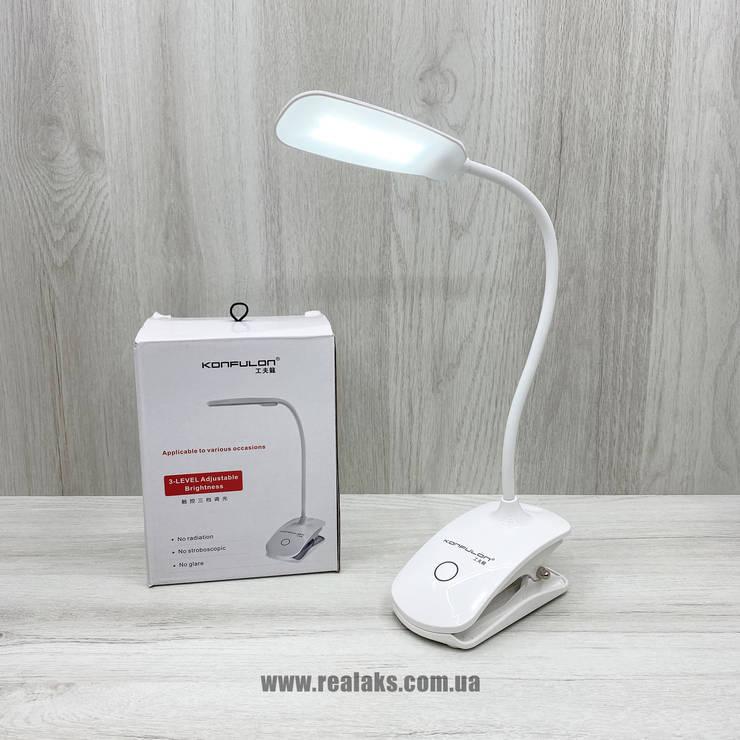 Настольная лампа KONFULON T2 (White), фото 2