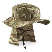 Панама с защитой шеи MTP, Б/У, Армии Великобритании, оригинал