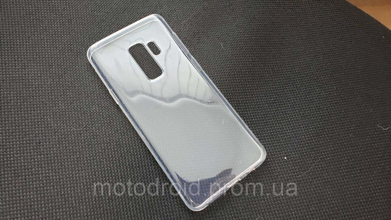 Чохол для Samsung Galaxy S9 Plus прозорий силікон