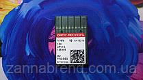 Игла швейная промышленная Groz-Beckert 1955-06-90 (134SES, 134FFG) толстая колба трикотажная