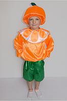 Костюм апельсина для мальчика от 3 до 6 лет