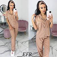 Стильный женский пижамный комплект Разные цвета