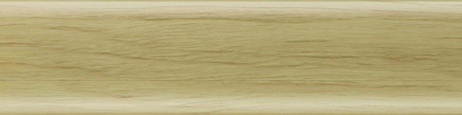Плинтус пластиковый Salag 58 (Ясень белый с кабель каналом напольный пластиковый плинтус)