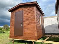 Бытовка деревянная, хозблок для дачи 3000х2500. Скидка на домокомплекты на 2020 год