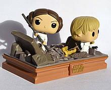 Коллекционная фигурка Bobble 2-Pack: Star Wars: Luke & Leia Trash Compactor