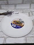 Тарілка-блюдо, білого кольору фірми Luminark, розмір 27 см, фото 4