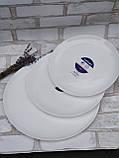 Тарілка-блюдо, білого кольору фірми Luminark, розмір 27 см, фото 6