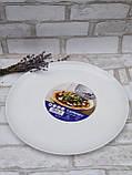 Тарілка-блюдо, білого кольору фірми Luminark, розмір 27 см, фото 5