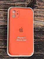 """Чехол для iPhone 11 (silicon case - Full Cover) """"Оранжевое настроение №13"""""""