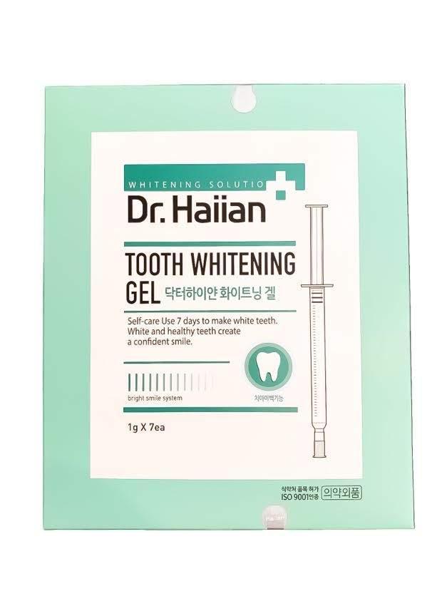 Гель для інтенсивного відбілювання зубів May Island Dr. Haiian 7Days Miracle Tooth Whitening gel