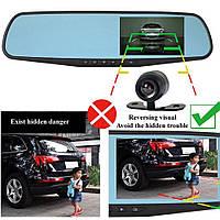 Автомобильный видеорегистратор в зеркале заднего вида Vehicle Blackbox DVR L9000