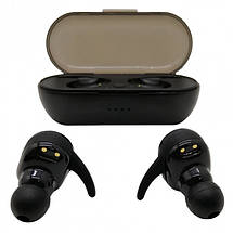 Бездротові Bluetooth V 5.0 навушники TWS4 Sport Wireless чорні, фото 2