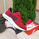 Женские кроссовки в стиле Nike Zoom AIR красные, фото 3