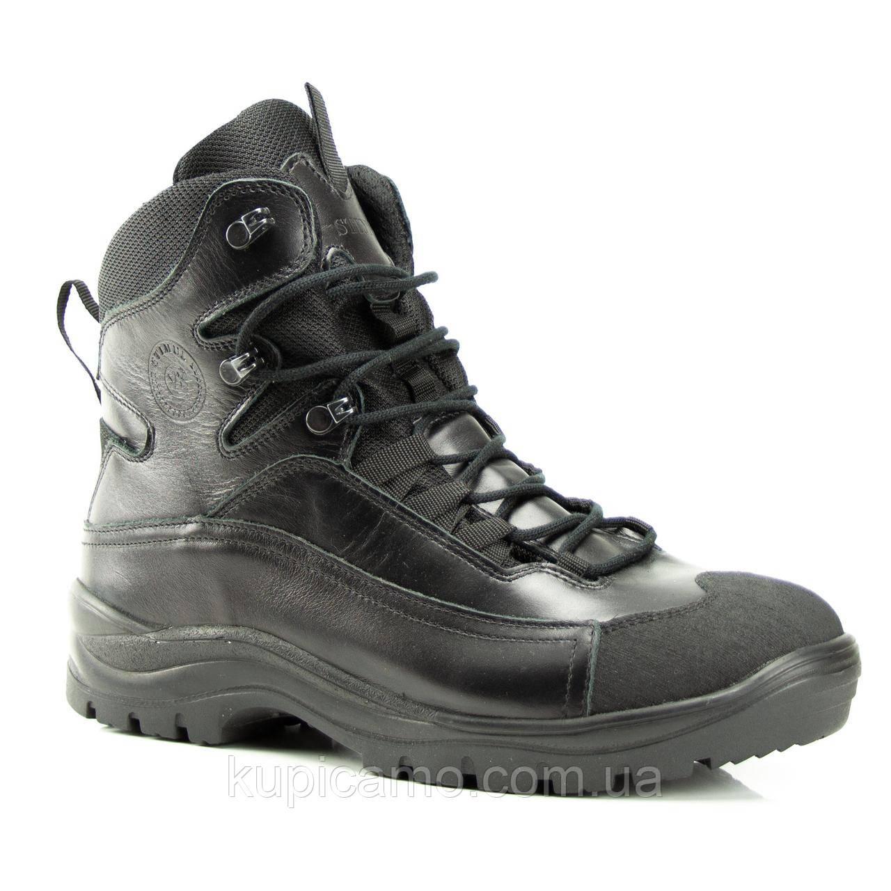 Ботинки Атаман деми (черный глянец)