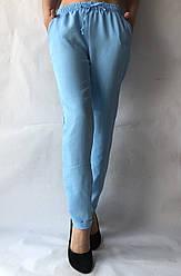 Женские летние штаны, №14 голубой
