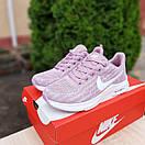 Жіночі кросівки в стилі Nike Zoom AIR бузкові, фото 2