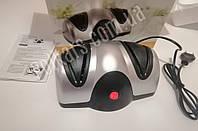 Точилка для кухонных ножей 220В, электрическая, на присосках 3шт