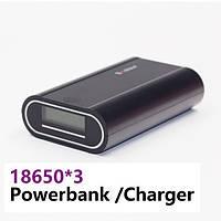 Power Bank Soshine E5 Dual USB, 3х18650, ток 2A, фото 1