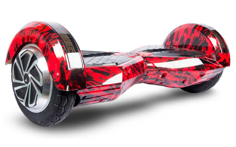 Гироборд Segway Гироскутер Сигвей 8 дюймов самобаланс Красное пламя