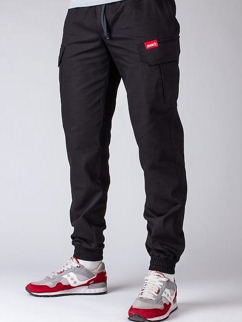 Теплые брюки карго Punch Winter Rush черные