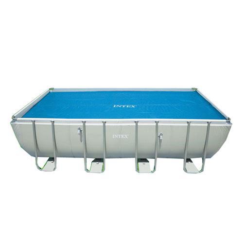 Тент для прямоугольных каркасных бассейнов Intex 29027
