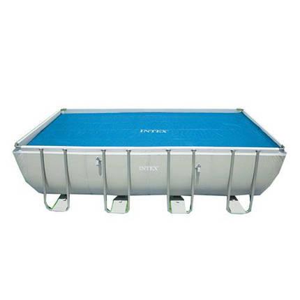 Тент для прямоугольных каркасных бассейнов Intex 29027, фото 2