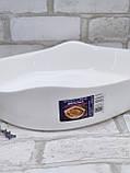 Форма для запікання квадратна, білого кольору фірми Luminark, розмір 20х20 см, 1 л, фото 4